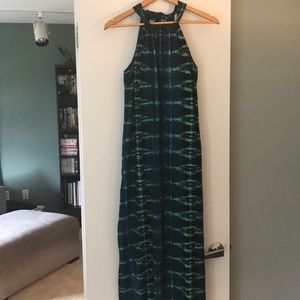 Cotton maxi dress from Athleta with built in bra.